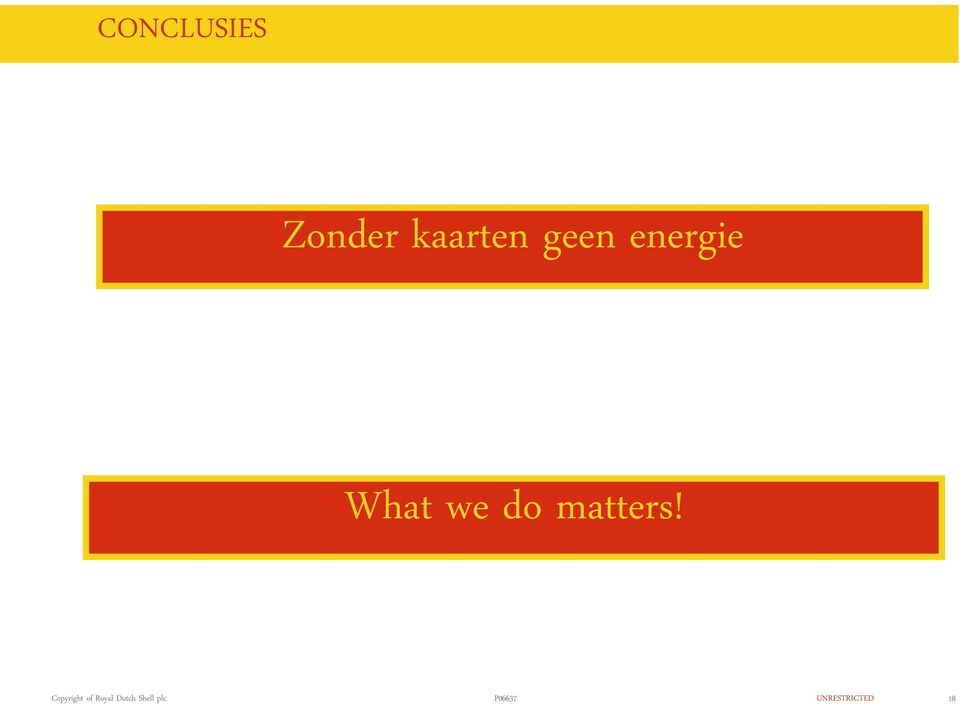 energie What we do