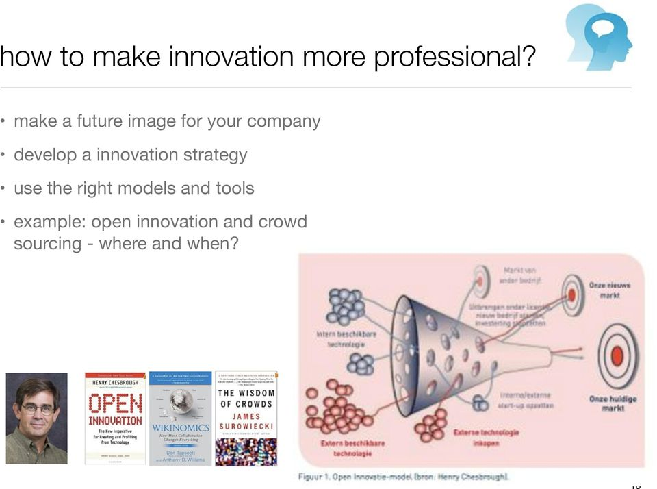 innovation strategy use the right models and tools