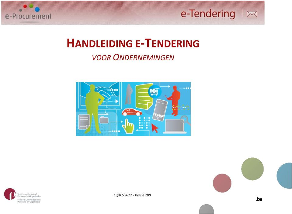 what is e-tendering pdf