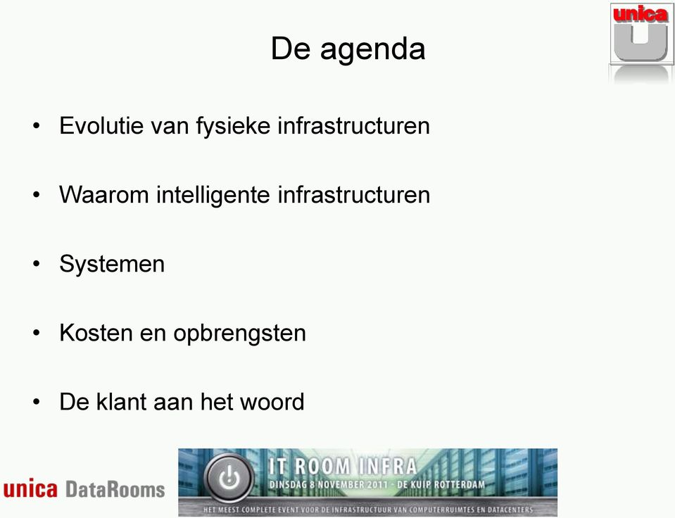 intelligente infrastructuren