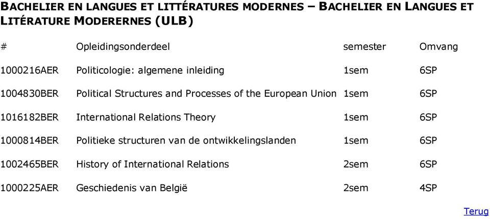 1sem 6SP 1016182BER International Relations Theory 1sem 6SP 1000814BER Politieke structuren van de