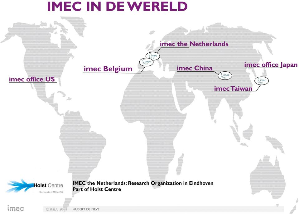imec office Japan IMEC the Netherlands: Research
