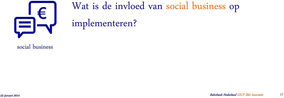 social business 23 januari 2014
