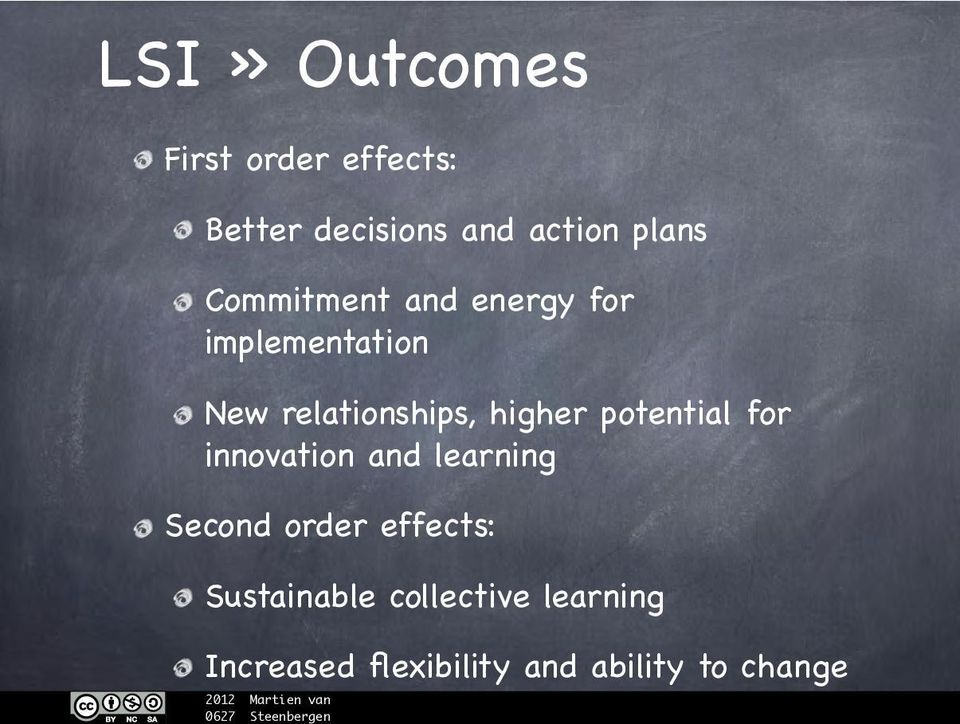 higher potential for innovation and learning Second order effects: