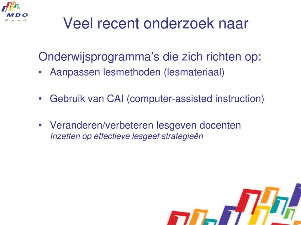 van CAI (computer-assisted instruction)