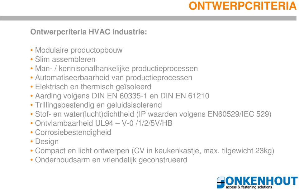 ONKENHOUT IN DE HVAC INDUSTRIE - PDF