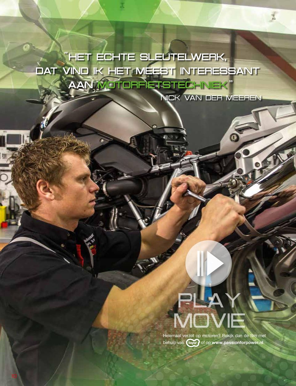 meeren PLAY MOVIE Helemaal verzot op motoren?