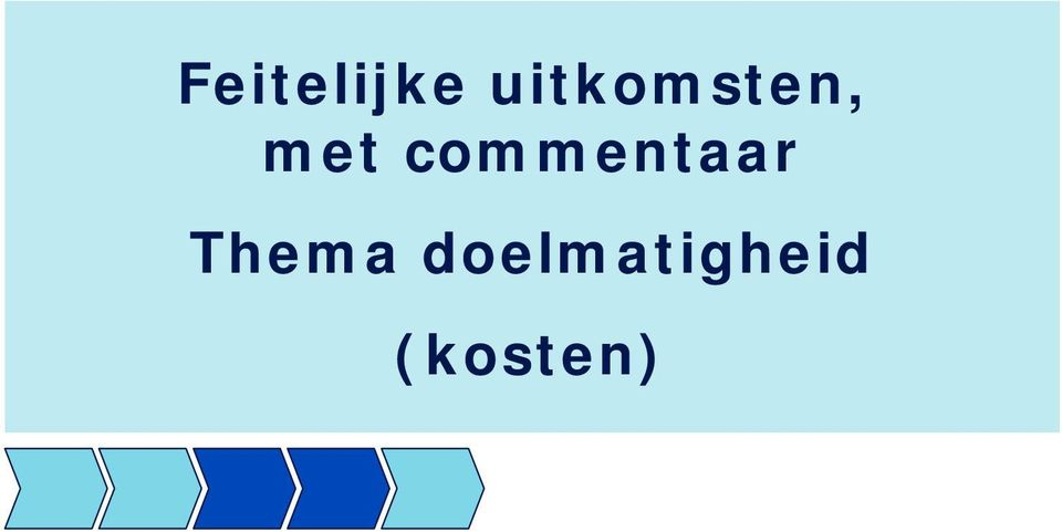 commentaar Thema