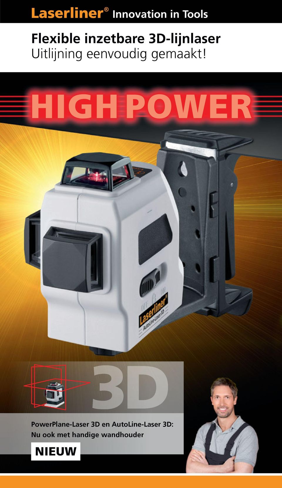 HIGH POWER PowerPlane-Laser 3D en
