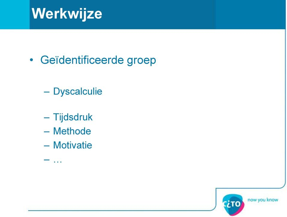 groep Dyscalculie
