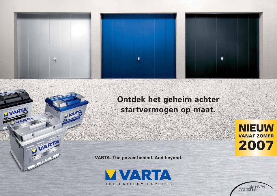 VARTA. The power behind.