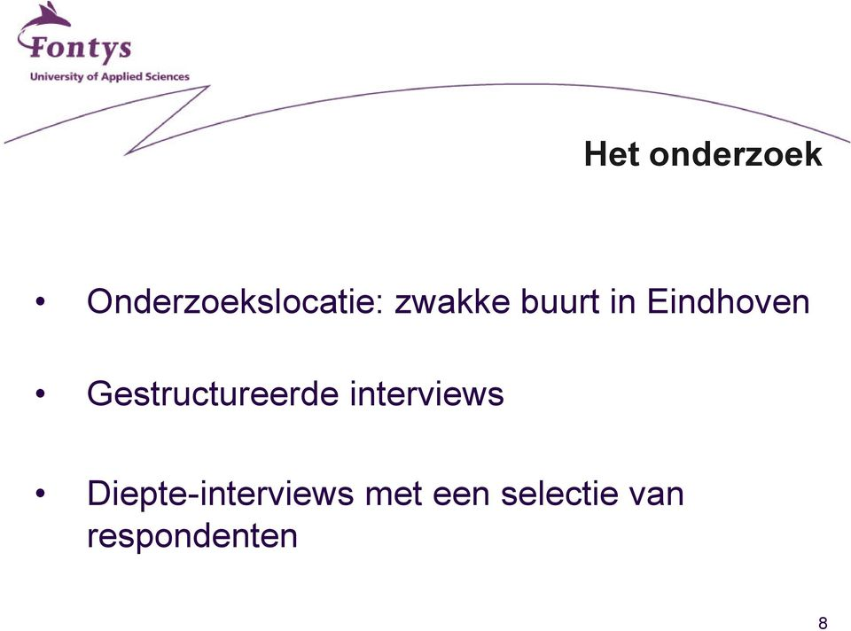 Gestructureerde interviews