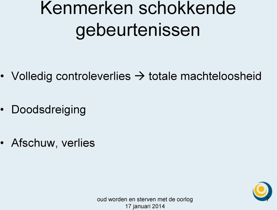 controleverlies totale
