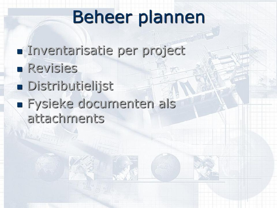 project Revisies