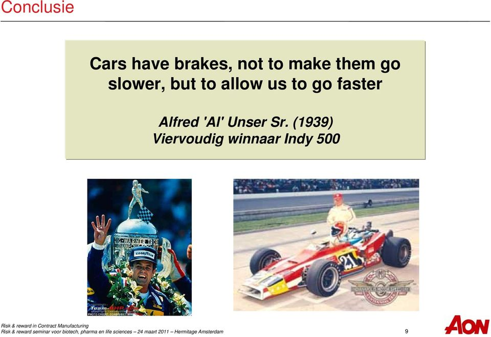 us to go faster Alfred 'Al' Unser