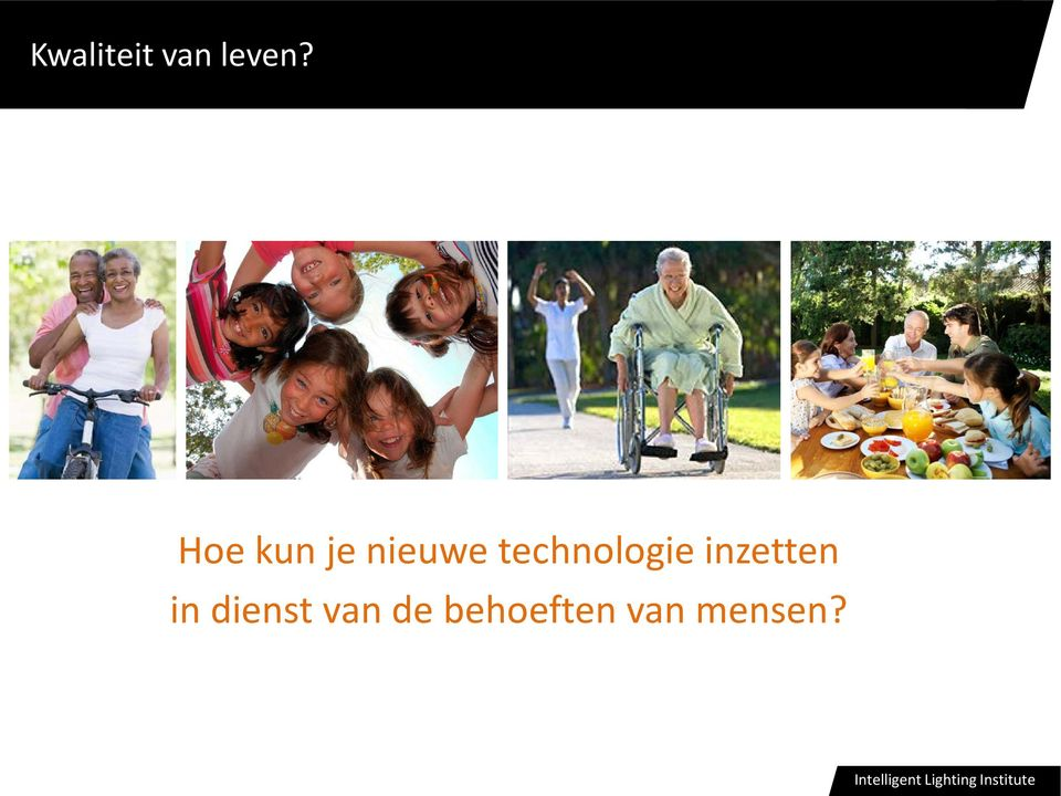 technologie inzetten in