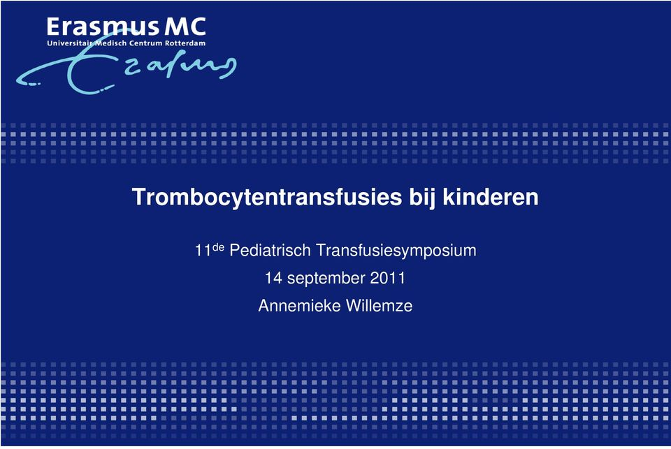 Transfusiesymposium 14