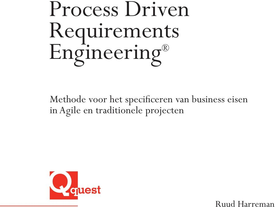 specificeren van business eisen in