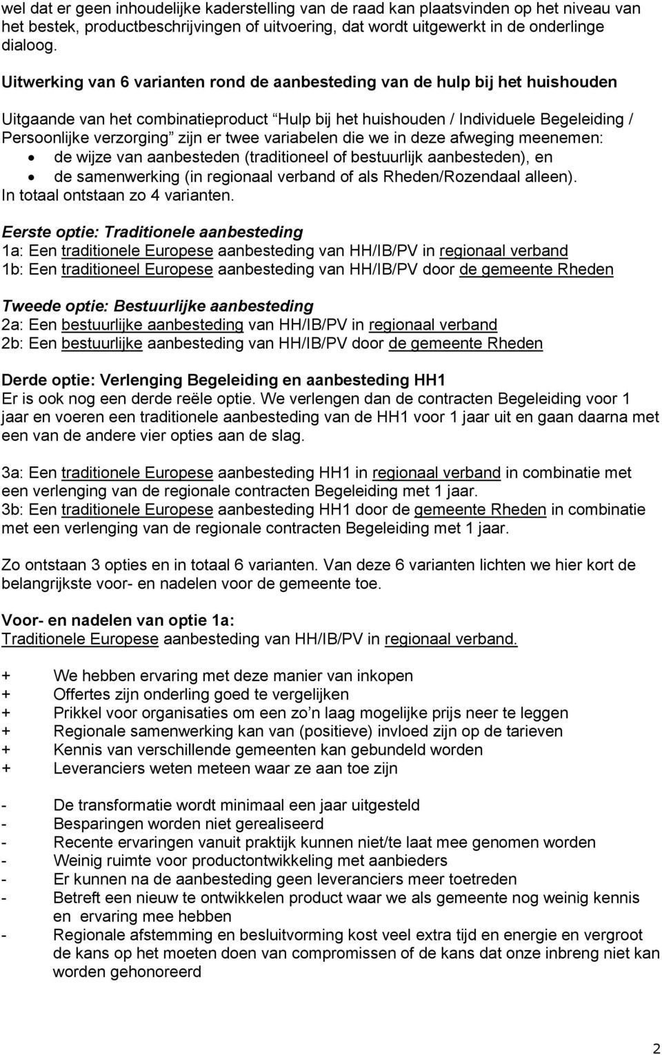 contract europese aanbesteding