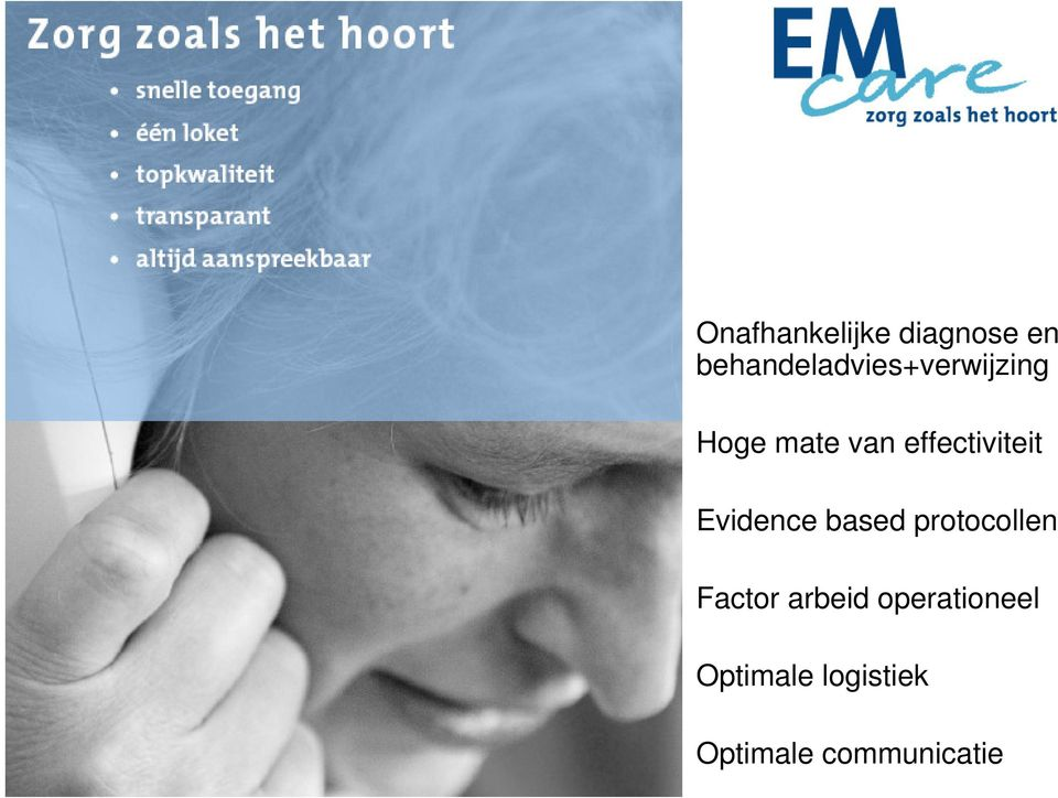 effectiviteit Evidence based protocollen