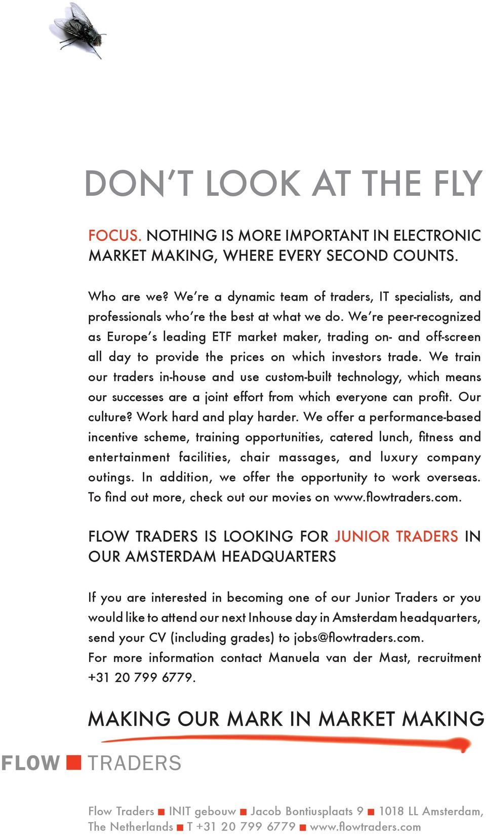 We're peer-recognized as Europe's leading ETF market maker, trading on- and off-screen all day to provide the prices on which investors trade.