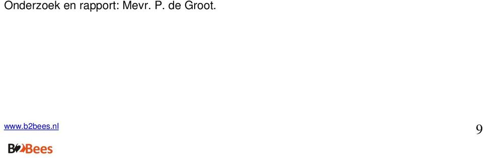 rapport: