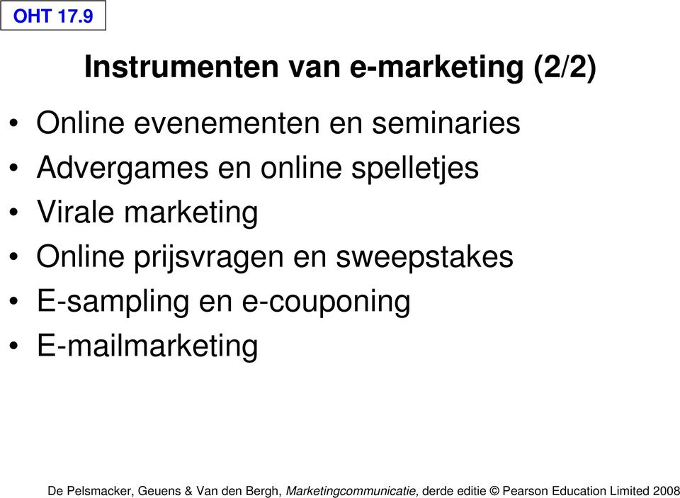 evenementen en seminaries Advergames en online