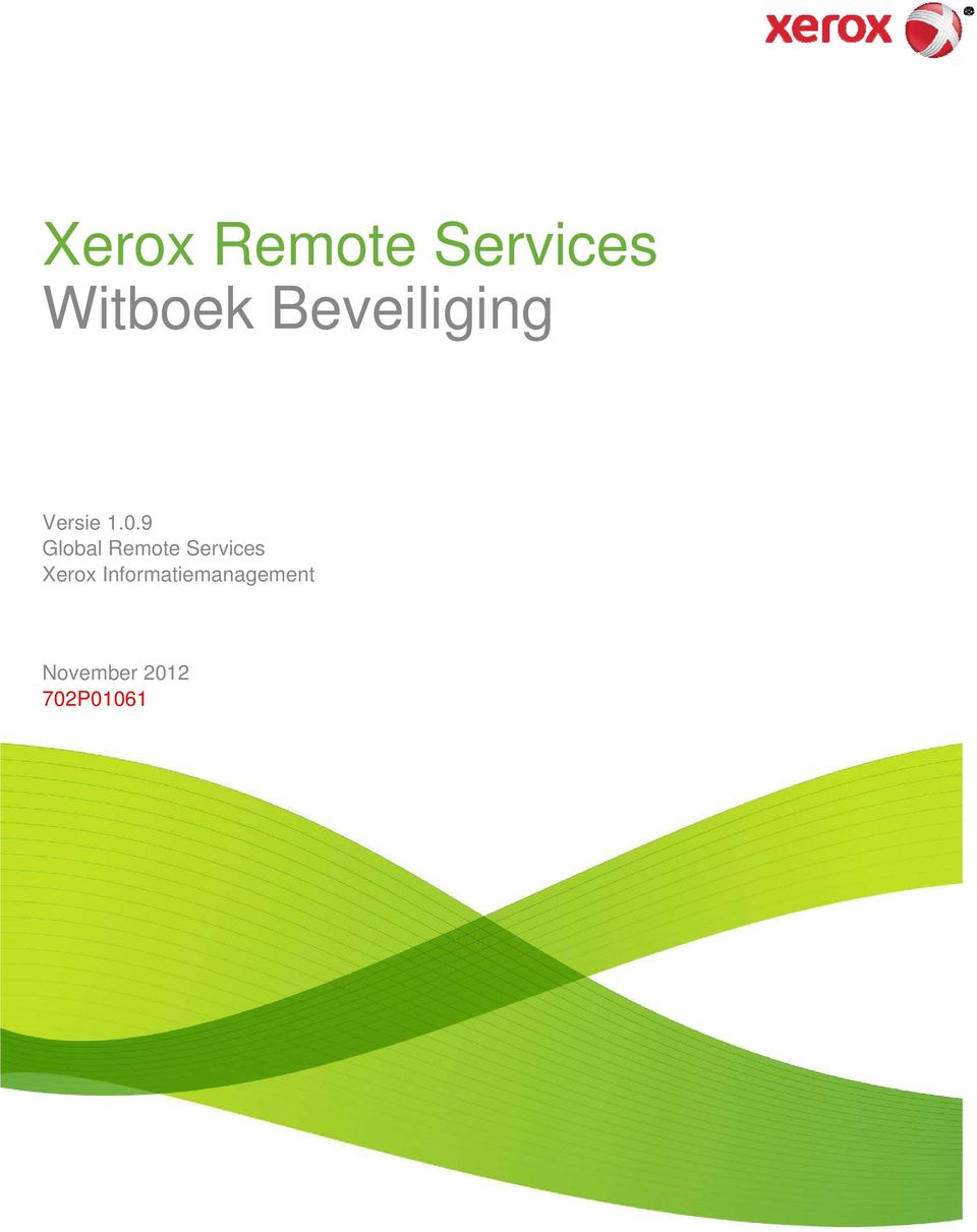 9 Global Remote Services Xerox