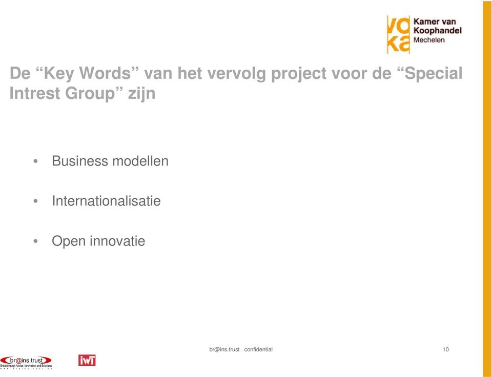 Business modellen Internationalisatie