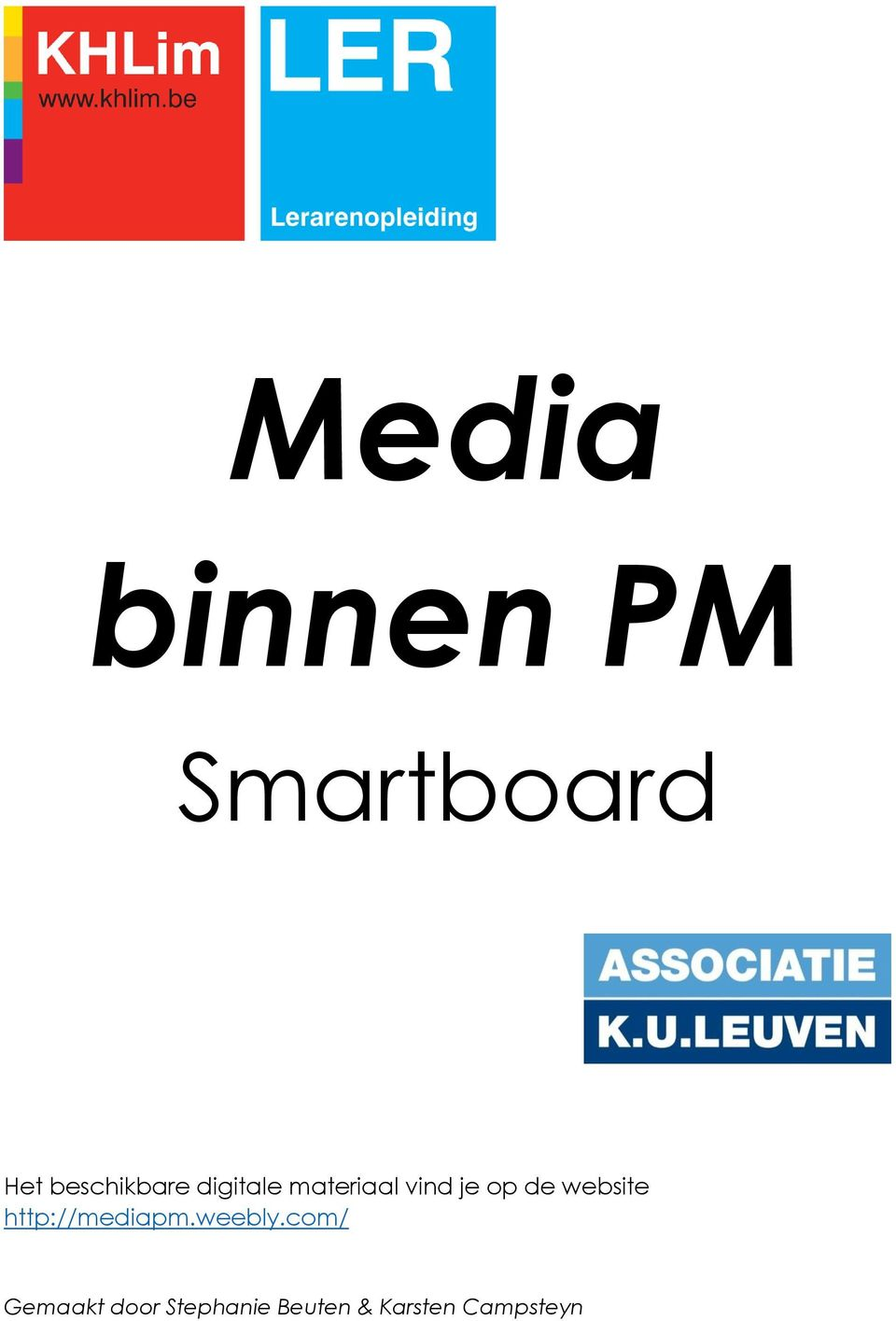 op de website http://mediapm.weebly.