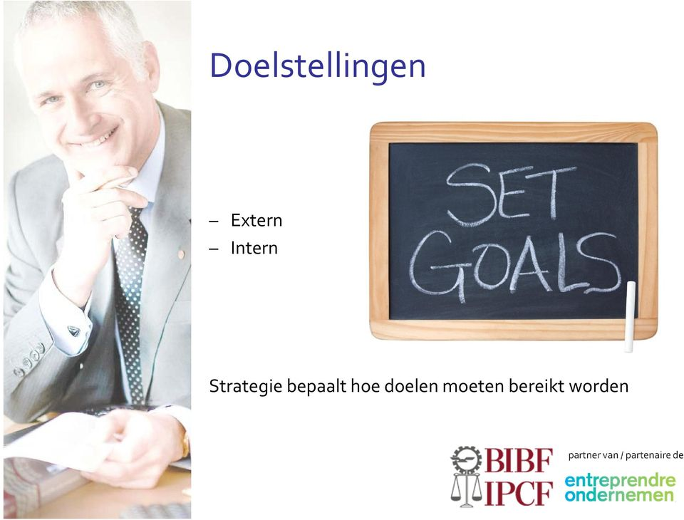 Strategie bepaalt