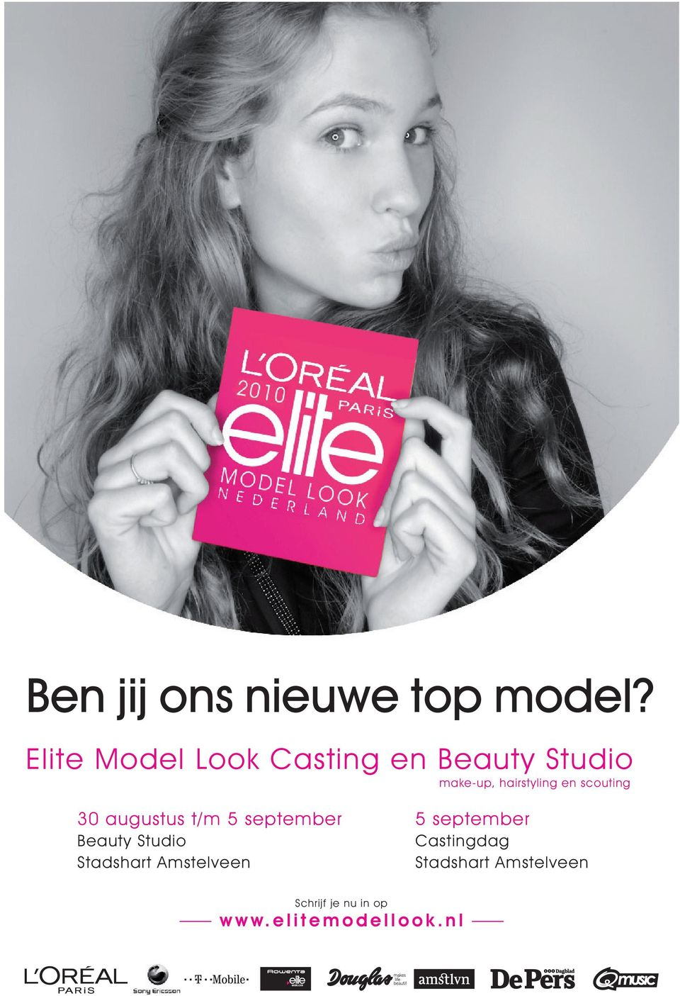en scouting 30 augustus t/m 5 september Beauty Studio Stadshart