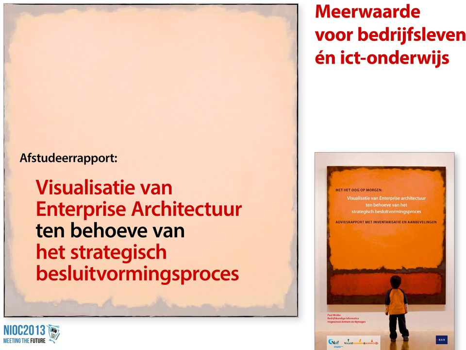 Visualisatie van Enterprise