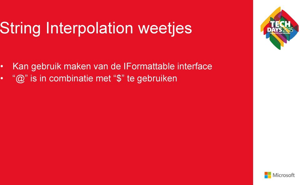 IFormattable interface @ is