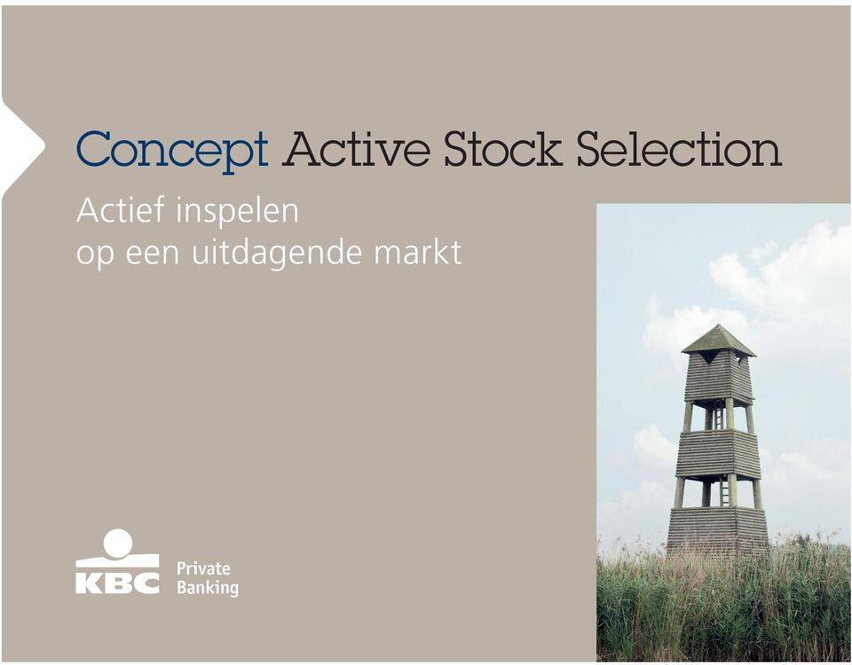 Selection Actief
