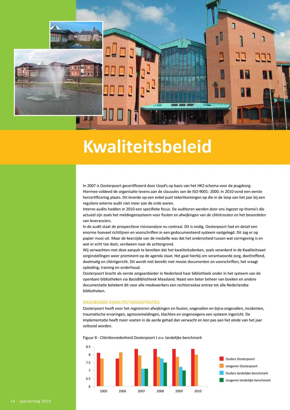 Interne audits hadden in 2010 een specifieke focus.