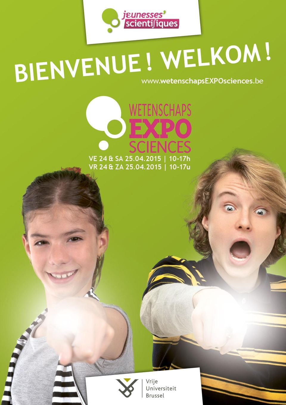 be EXPO WETENSCHAPS SCIENCES VE