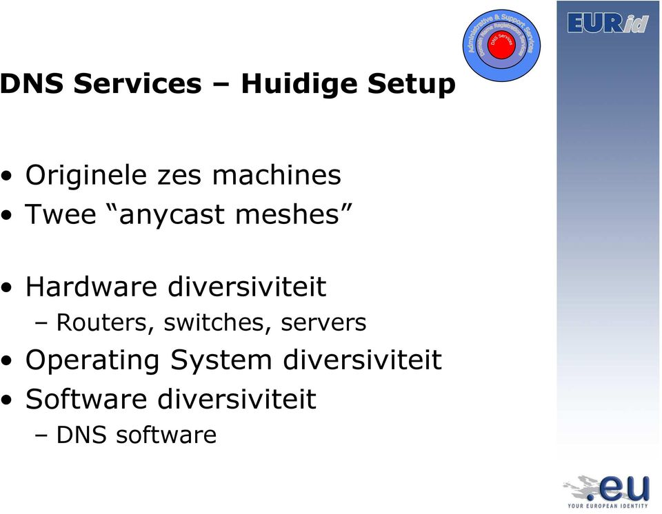 diversiviteit Routers, switches, servers