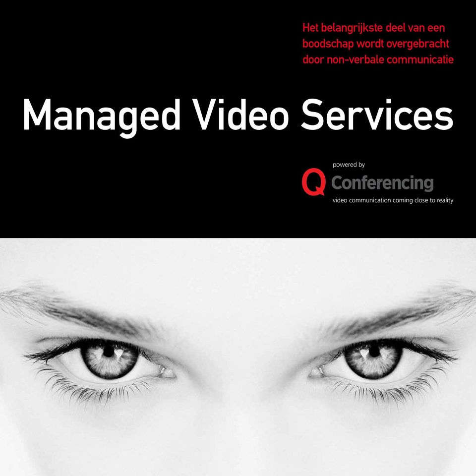 communicatie Managed Video Services
