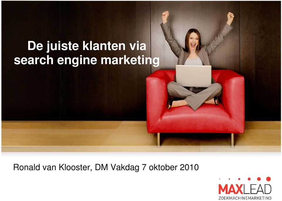 marketing Ronald van