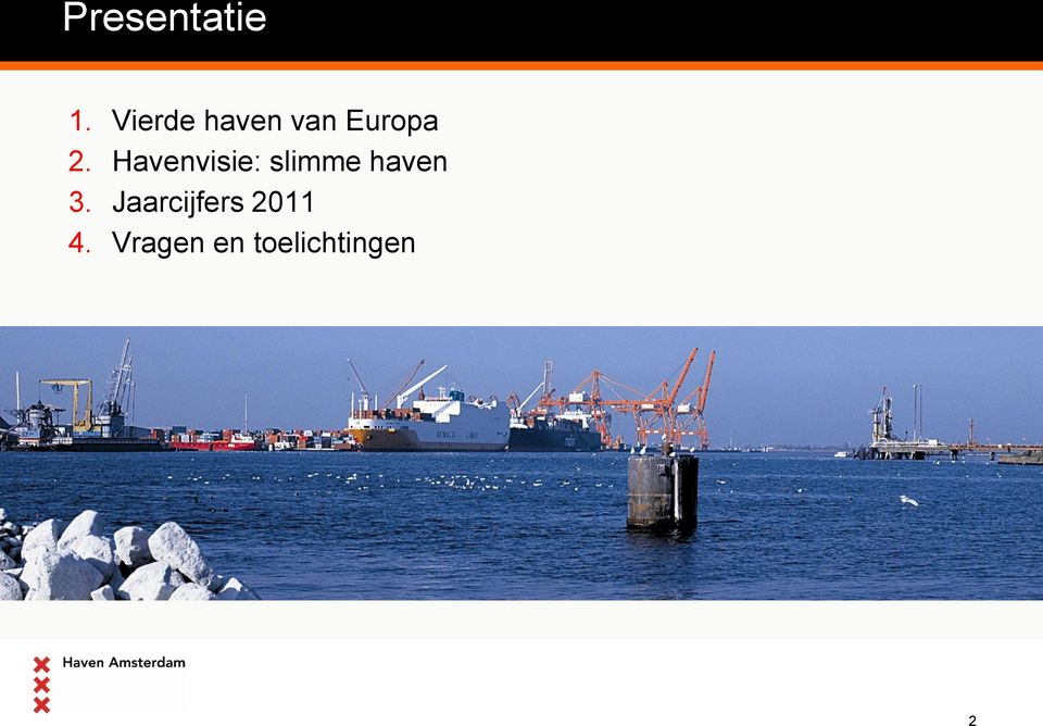 Havenvisie: slimme haven 3.