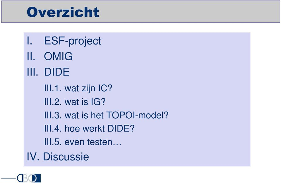 wat is het TOPOI-model? III.4.
