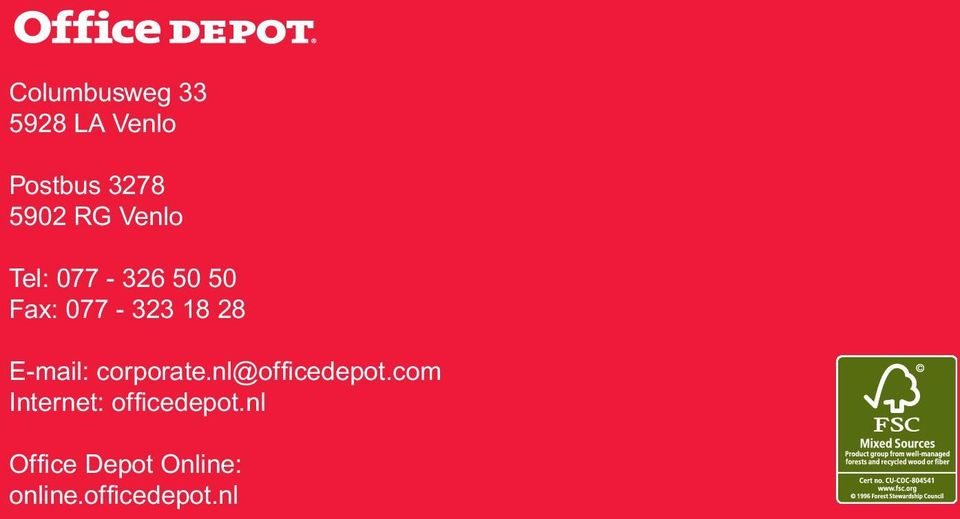 E-mail: corporate.nl@officedepot.