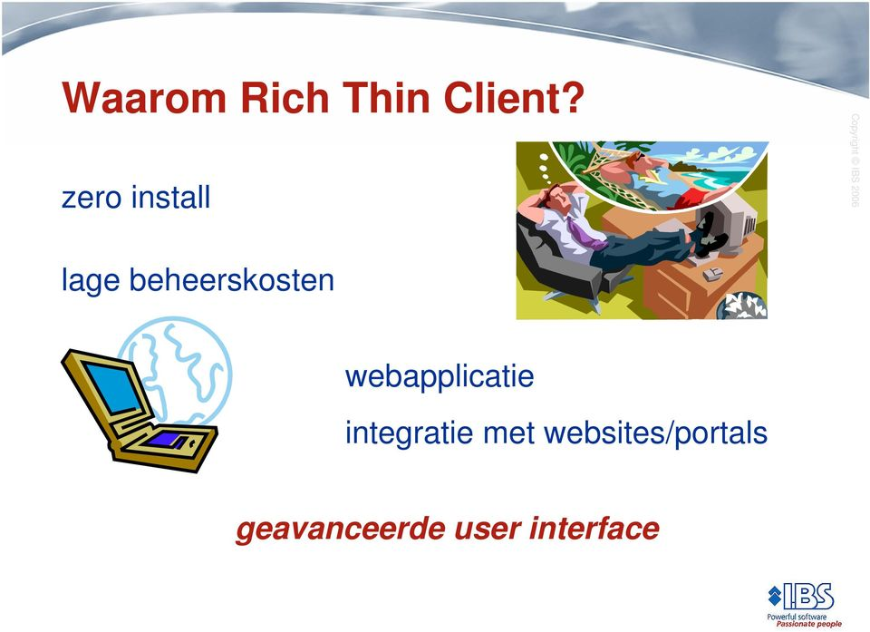 webapplicatie integratie met