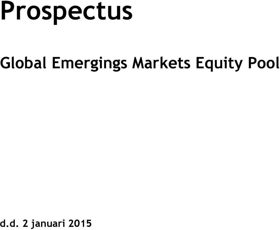 Markets Equity