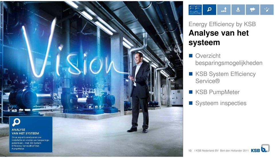 System Efficiency Service KSB PumpMeter Systeem