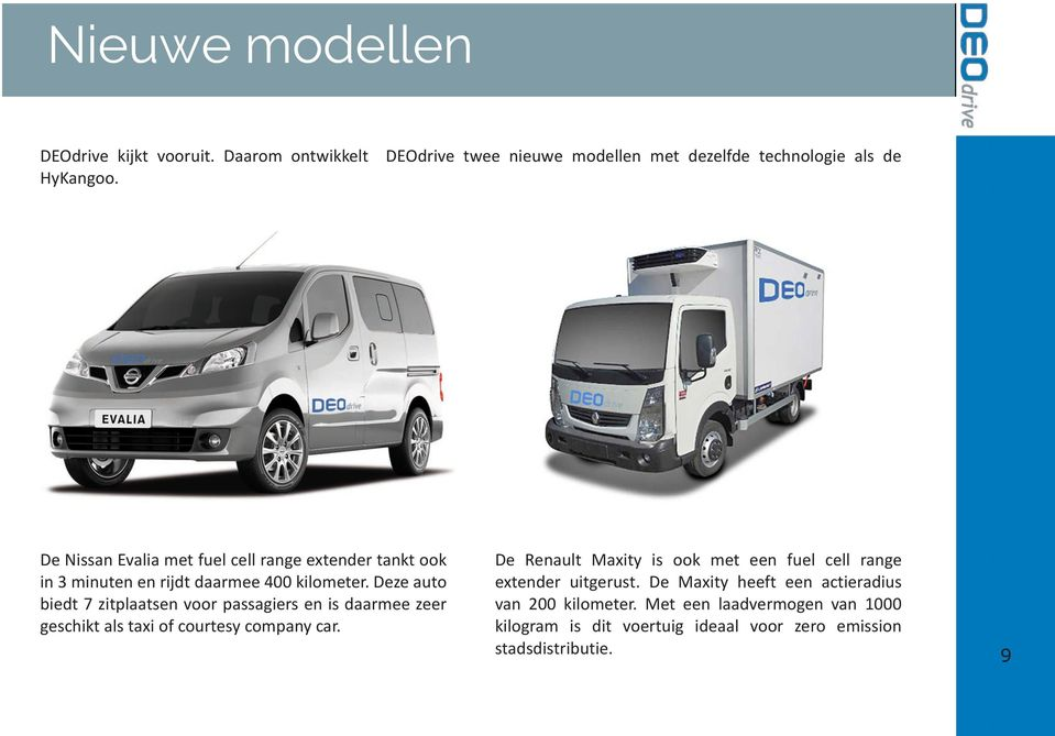 .. Electric Electric Vehicle Vehicle Vehicle (FCEV) (FCEV) (FCEV)... 7 5 5 5 Veiligheid Specificaties Specificaties... 8 6 6 6 Nieuwe Hoe Hoe Hoe werkt moll werkt werkt het?