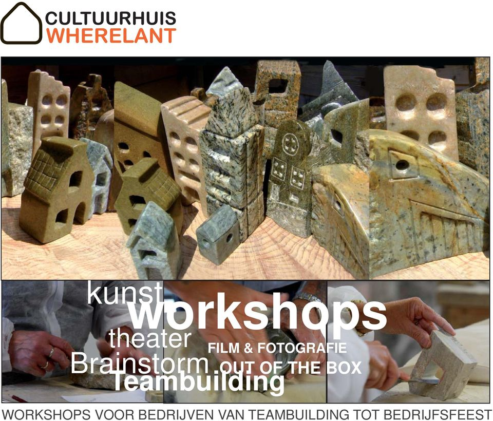 BOX Teambuilding WORKSHOPS VOOR