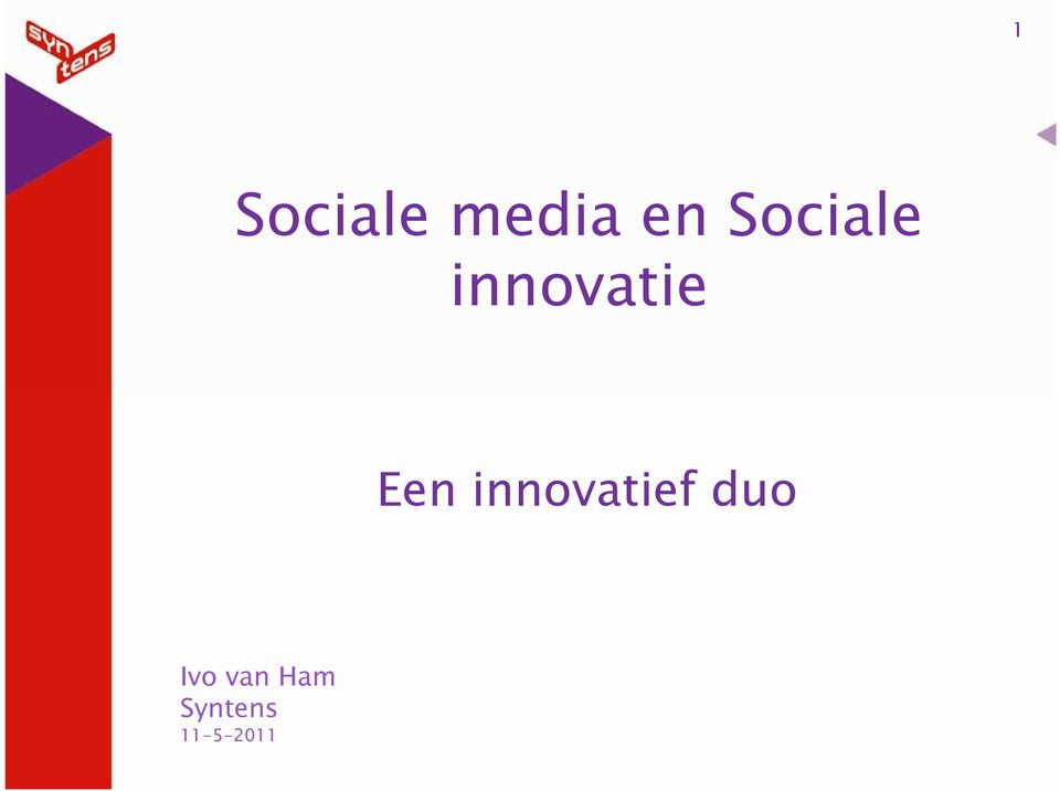 innovatief duo Ivo
