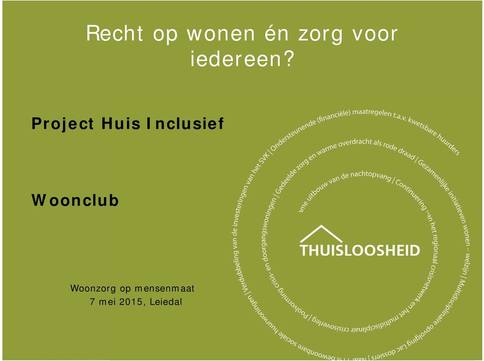 Project Huis Inclusief